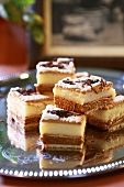 Cream slices made with Leibniz biscuits