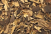 Dried ash bark