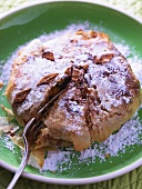 Pastilla (puff pastry pie) with almonds