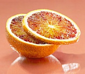 Blood orange (half and slice)
