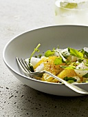 Citrus fruit and jicama salad