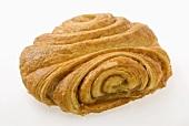 A Franzbrötchen (sweet pastry)