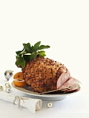 Ham studded with cloves
