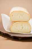 Cow's milk cheese on paper