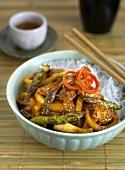 Sichuan-style pork (China)
