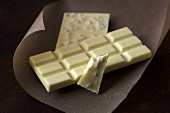 White chocolate (bars and a piece)