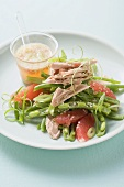 Bohnensalat mit Thunfisch