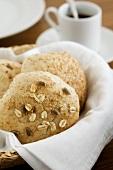 Wholemeal bread rolls