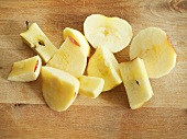 Apple, peeled and cut into pieces