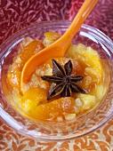 Kumquat-Ananas-Konfitüre mit Sternanis