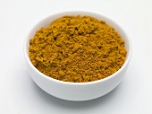 Spice mixture (Berbere) in a small bowl