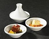 Meat and poultry tajine