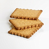 Three butter biscuits