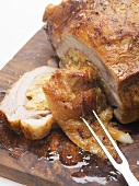 Stuffed breast of veal