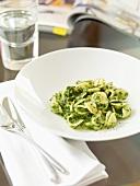 Orecchiette with pesto
