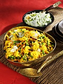 Gemüsereis mit Zimt (Indien)