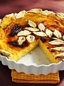 Apricot cheese tart