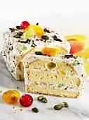 Sicilian curd cheese cake