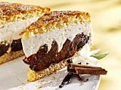 Quark plum cake