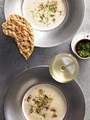 White wine soup