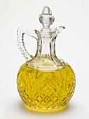 Olive oil in carafe
