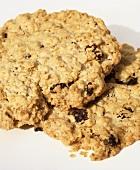 Oatmeal Cookies (Haferkekse mit Rosinen)