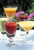 Assorted fruit cocktails