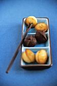 Mini-financiers (small French cakes)
