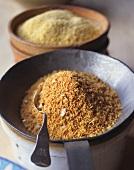 Couscous gewürzt und pur