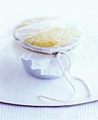 Steamed lemon pudding (UK)