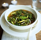 Sweet and sour vegetable broth