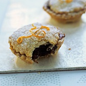Mince pies (Christmas sweet pastry, UK)