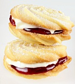 Two Viennese whirls (UK)
