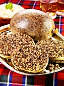 Haggis (Traditional Scottish dish)