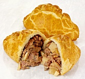 Cornish pasties (Meat and vegetable pasties)