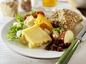 Ploughman's lunch, UK