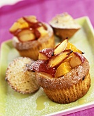 Low-fat store-bought muffins with fruit