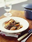 Stufato al vino rosso (Braised beef with Chianti)
