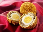 Scotch eggs (Boiled eggs in sausagemeat, UK)