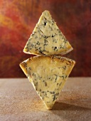 Stilton: with firm and with creamy consistency