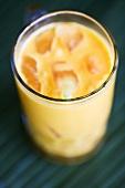 Mango lassi (blurred)