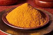 Madras curry powder in a dish