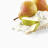 Gorgonzola (dolcelatte) with pears
