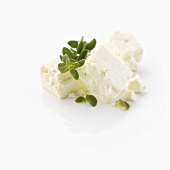 Feta cheese with oregano