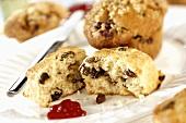 Scone und Muffin
