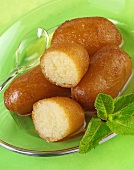 Gulab jamun (Milk balls in sugar syrup, India)