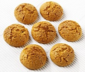 Amaretti (Almond biscuits flavoured with ratafia, Italy)