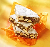 Panforte di Siena (Fruit cake with nuts, Tuscany)
