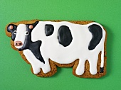 A cow biscuit