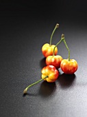 Four Acerola cherries
